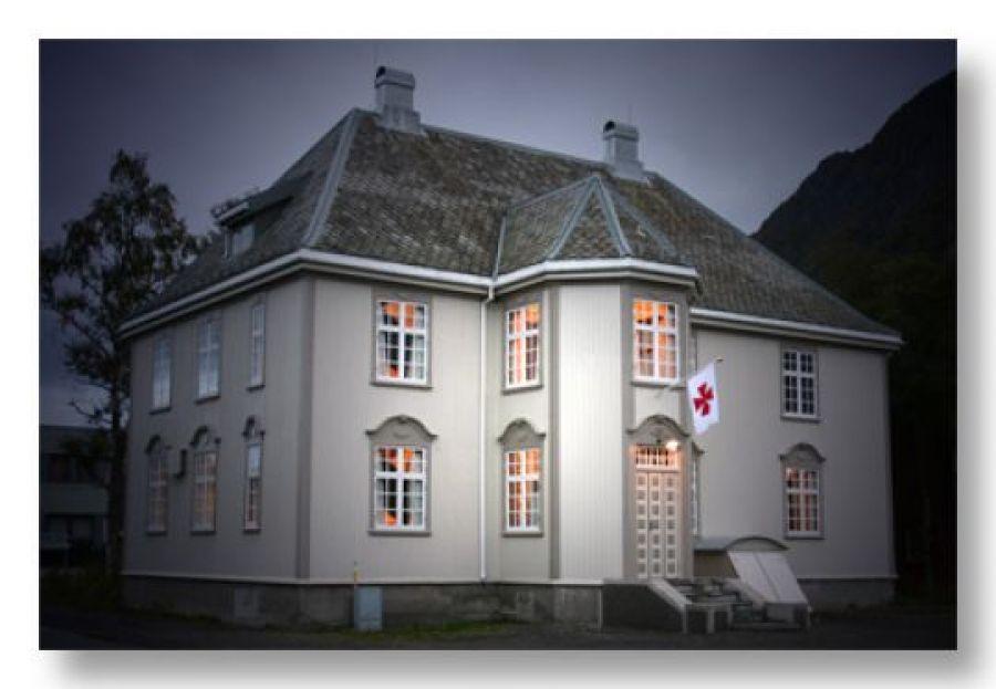 Vakre Stiftsgården i Mosjøen ble bygget i 1923.