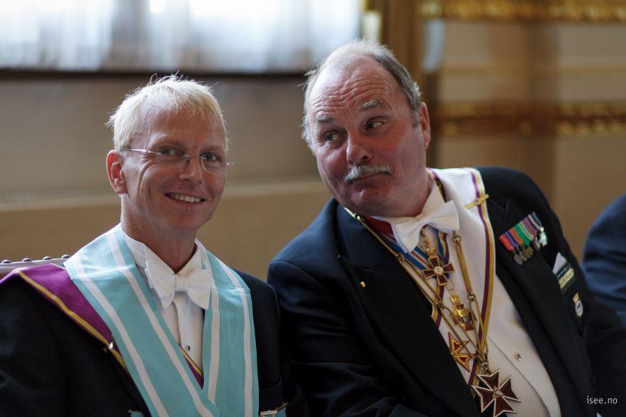 Kjell Juveth Johansen og Knut Teige (OSB)