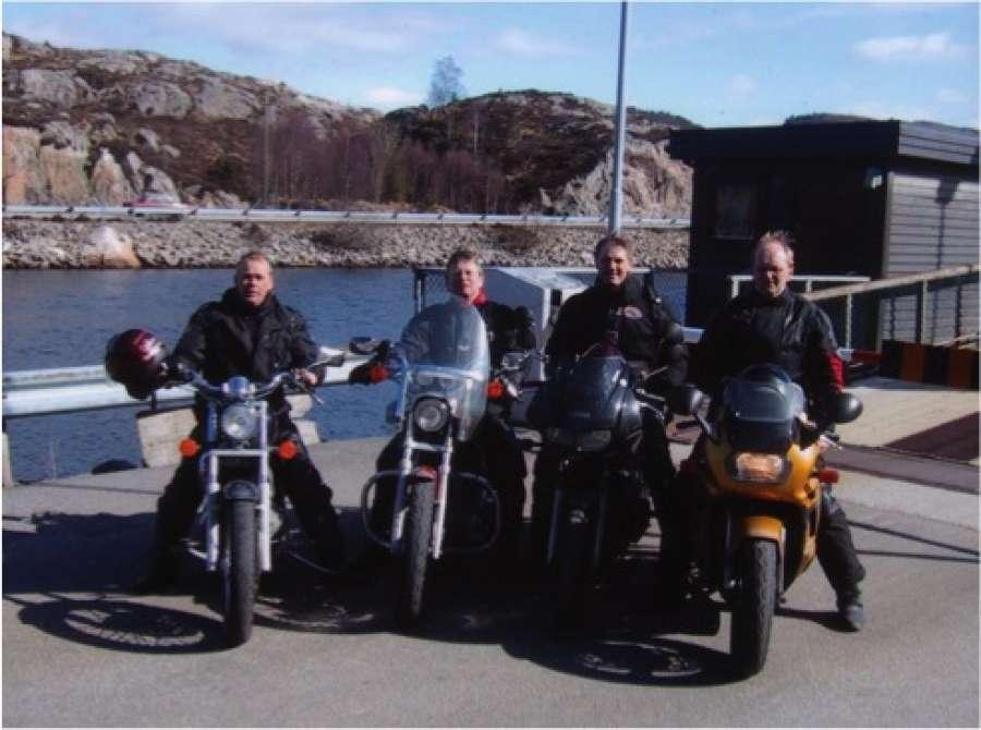 MC- og biltur til Sunnfjord 24 til 26.mai 2019.