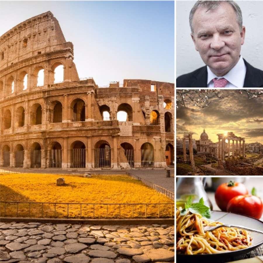 St. Svithuns logetur til Roma med Kjell Arild Pollestad, 29. oktober - 2. november