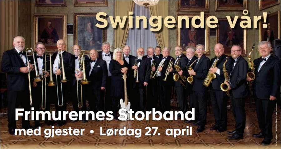Invitasjon til Swingende vår i Stamhuset lørdag 27. april kl 16