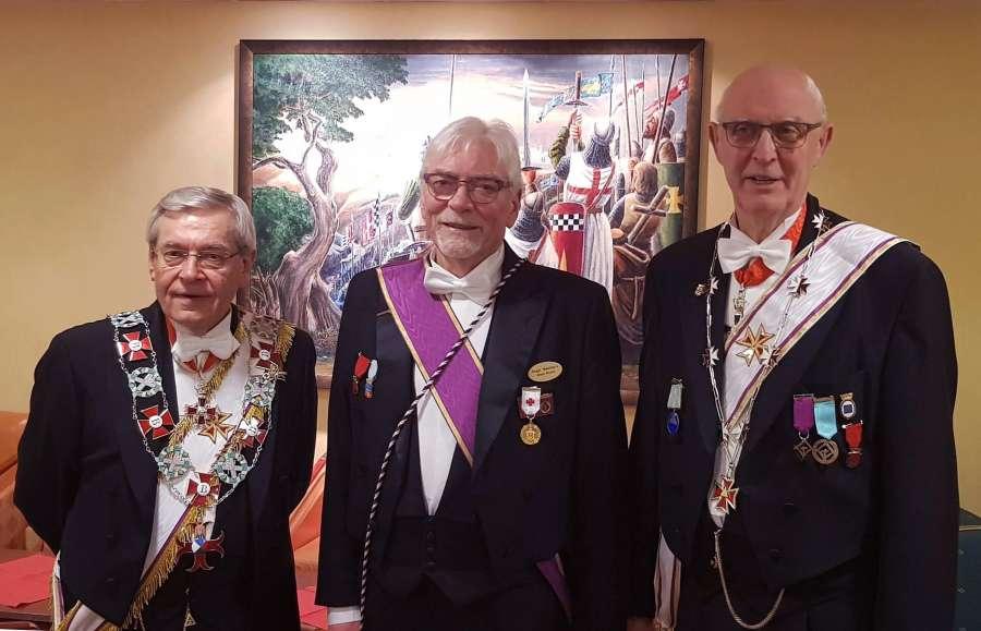 Fra venstre: Ragnar Tollefsen, Roger Westmark, Per-Trygve Kongsnes