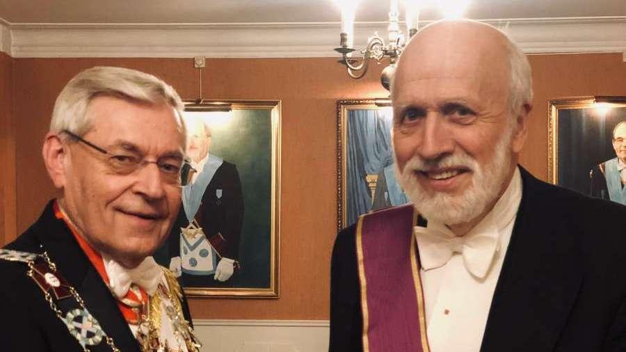 Stormesterens Fortjenstmedalje til Kjell Ragnar Olsen