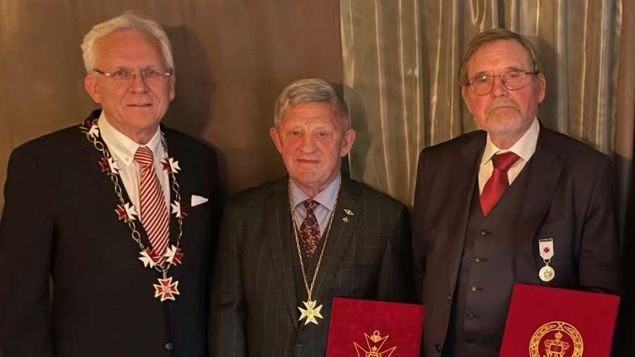 Heder og ære til to brødre i St. Olaf til det gjenreiste Tempel