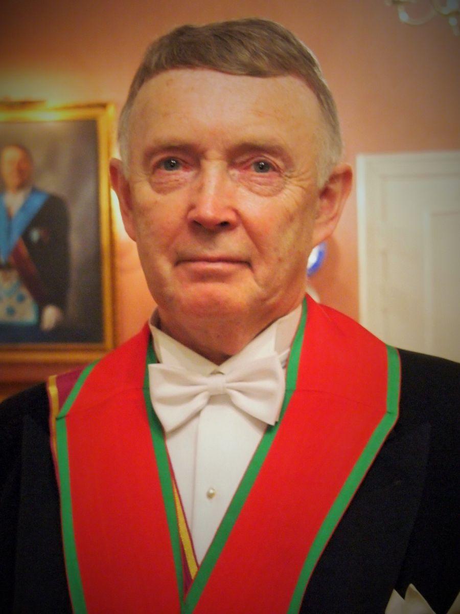 Olav Andreassen ble innsatt som Hålogalands Ordf. Mester i november i fjor. «Med øket kunnskap kommer trivsel og trygghet», sier han.