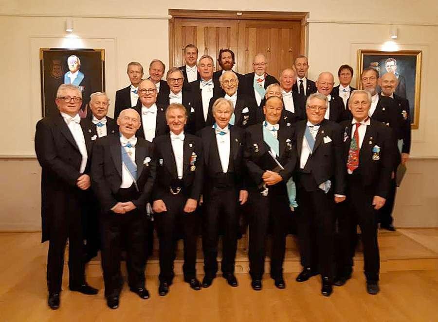 Presentasjon av Frimurernes Sangforening Oslo