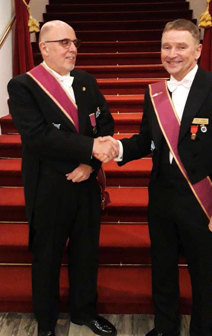 Erik Banks ny Ordførende Broder i Bodø Kapitel Broderforening
