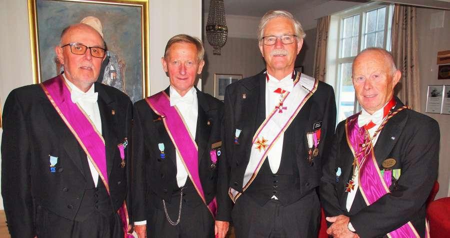 Blant deltakerne i år var det en tidl. Provincialmester Børje Kajander og ikke mindre enn tre tidl. Ordførende brødre – Rolf Schjem samt Jan Holt og Kjell Krey Dagsloth.