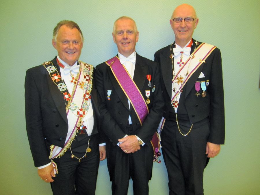 Stormesteren Tore Evensen, Broder Arvid Øvergård og Prov Mester Per-Trygve Kongsnes