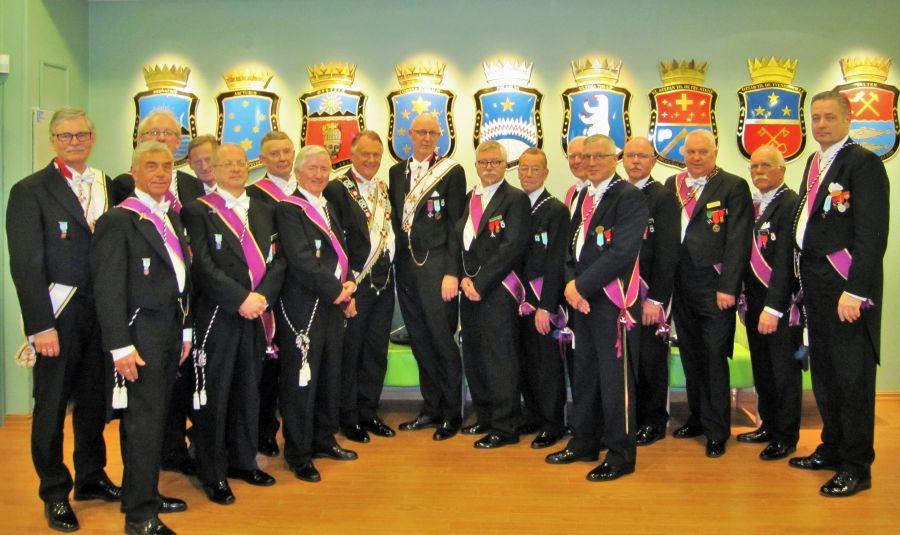 Ordførende Mestre og Ordførende Brødre i Tromsø Province
