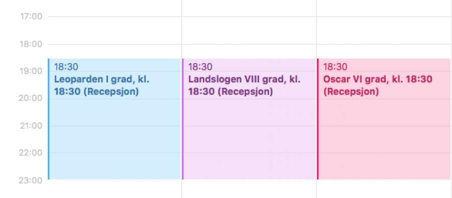 Slik abonnerer du på møtekalendrene