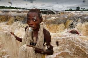 Fiske i Kongo elven