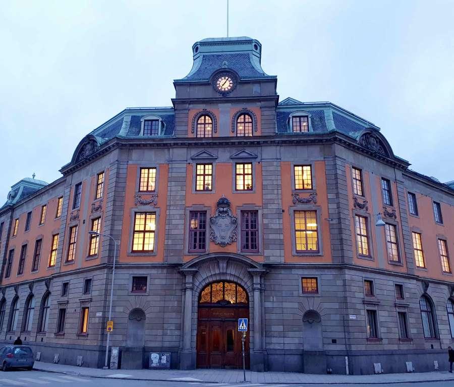 Logehuset i Uppsala, tidligere Sveriges Riksbank