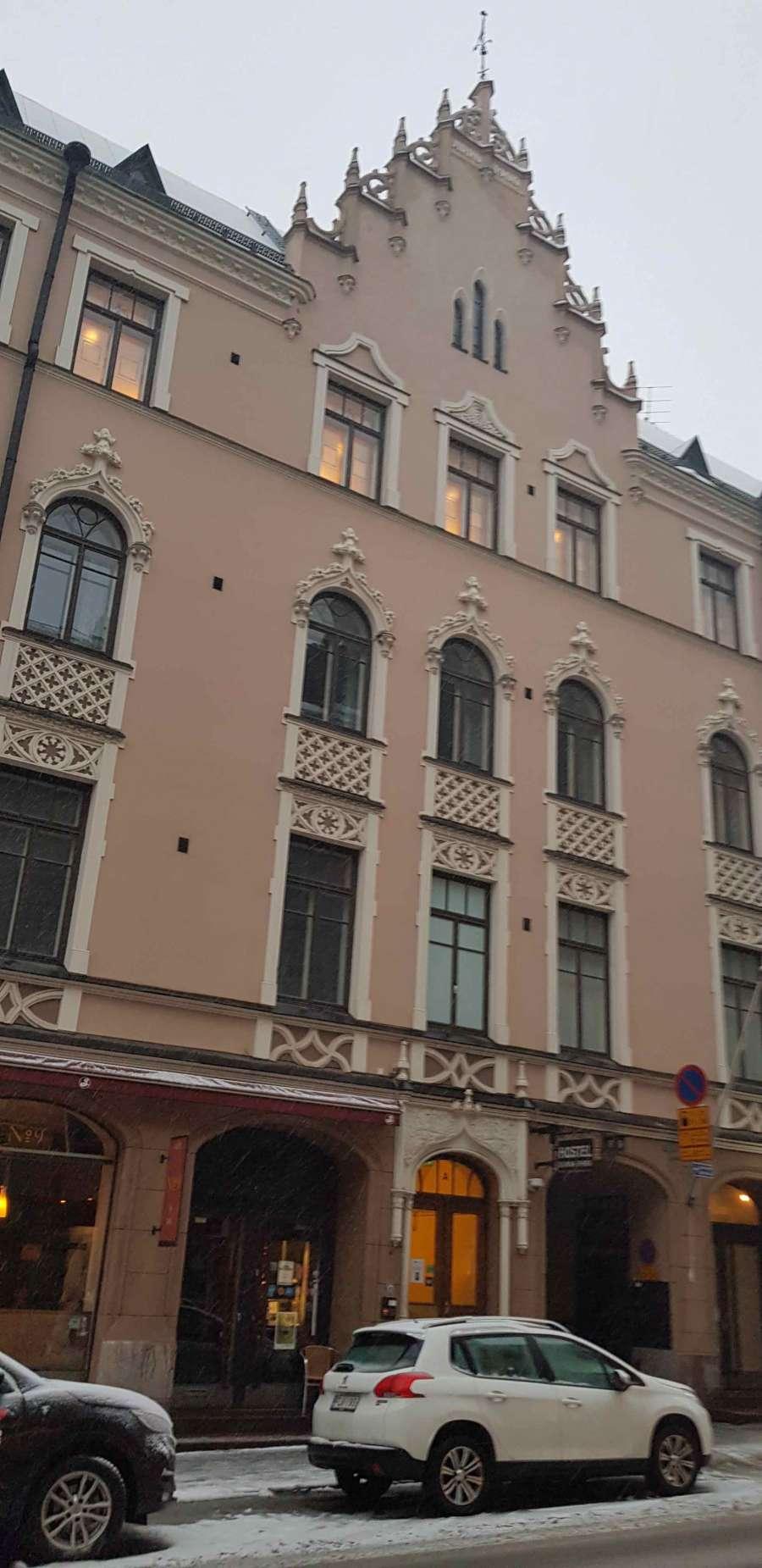 Logehuset i Nylandsgatan, Helsingfors