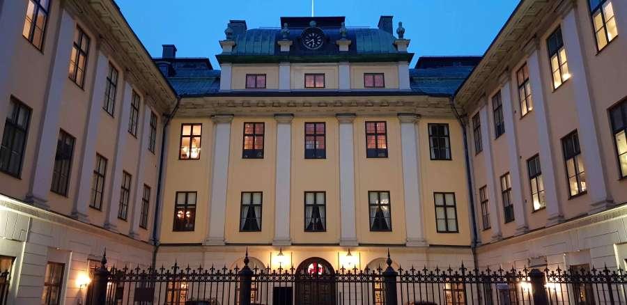 Bååtska Palatset på Blasieholmen, Stamhuset i Stockholm